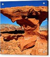 Sandstone Landscape Acrylic Print