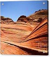 Sandstone Ledge Acrylic Print