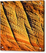 Sandstone Of Time Acrylic Print