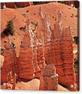 Sandstone Pillars Acrylic Print