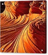 Sandstone Silhouette Acrylic Print