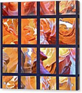 Sandstone Sunsongs Golden Oldies Photo Assemblage Acrylic Print