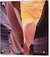 Sandstone Veils Acrylic Print