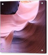 Antelope Canyon Sandstone Waves Acrylic Print