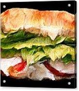 Sandwich Time Acrylic Print