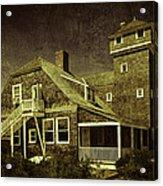Sandy Hook Beach Home Acrylic Print