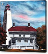 Sandy Hook Lighthouse Acrylic Print