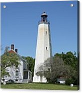 Sandy Hook Lighthouse IIi - N  J Acrylic Print