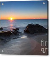 Sandy Hook Sunburst Acrylic Print