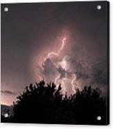 Sandy Pines Storm Acrylic Print