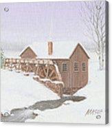 Sandy Spring Grist Mill Acrylic Print
