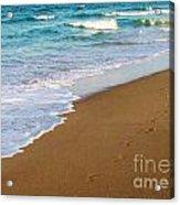 Sandy Toes Acrylic Print