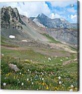 Sangre De Cristos Meadow And Mountains Acrylic Print