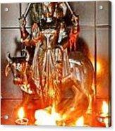 Sani Murti - Temple To Saturn - India Acrylic Print