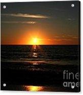 Sanibel At Sunset Acrylic Print