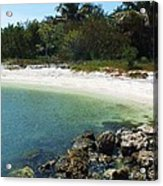 Sanibel Cove Acrylic Print by Anna Villarreal Garbis