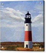 Sankaty Head Lighthouse Nantucket Massachusetts Acrylic Print