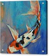 Sanke Butterfly Koi Acrylic Print