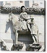 Sankt Martin Statue Lucca Acrylic Print