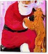 Santa Baby Acrylic Print
