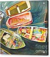 Santa Barbara Boats Acrylic Print