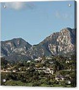Santa Barbara California Acrylic Print