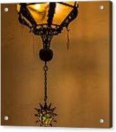 Santa Barbara Courthouse Lantern Acrylic Print