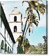 Santa Barbara Palms Acrylic Print