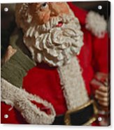 Santa Claus - Antique Ornament - 02 Acrylic Print