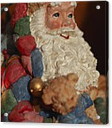 Santa Claus - Antique Ornament - 03 Acrylic Print