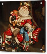 Santa Claus - Antique Ornament -05 Acrylic Print