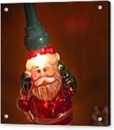 Santa Claus - Antique Ornament - 06 Acrylic Print by Jill Reger