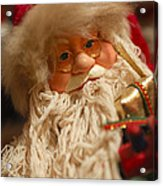 Santa Claus - Antique Ornament - 08 Acrylic Print