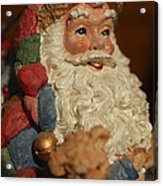 Santa Claus - Antique Ornament - 09 Acrylic Print by Jill Reger