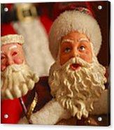 Santa Claus - Antique Ornament - 12 Acrylic Print