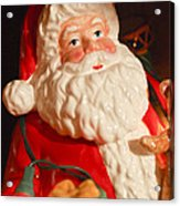Santa Claus - Antique Ornament - 13 Acrylic Print by Jill Reger