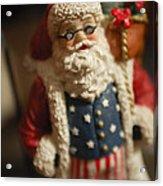 Santa Claus - Antique Ornament - 15 Acrylic Print