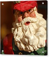 Santa Claus - Antique Ornament - 16 Acrylic Print