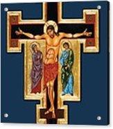 Santa Croce Acrylic Print by Joseph Malham