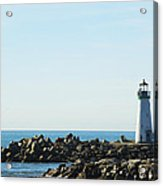 Santa Cruz California Lighthouse Acrylic Print