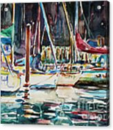 Santa Cruz Dock Acrylic Print