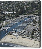 Santa Cruz Harbor Acrylic Print