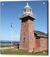 Santa Cruz Lighthouse Surfing Museum California 5d23936 Acrylic Print