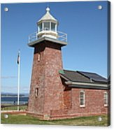Santa Cruz Lighthouse Surfing Museum California 5d23940 Acrylic Print