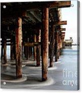 Santa Cruz Pier California Acrylic Print