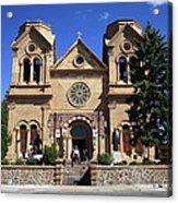 Santa Fe - Basilica Of St. Francis Of Assisi Acrylic Print