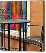 Santa Fe Cafe And Boutique Acrylic Print