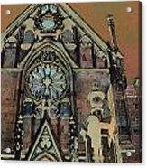 Santa Fe Cathedral Acrylic Print