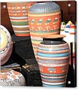 Santa Fe Pottery Acrylic Print