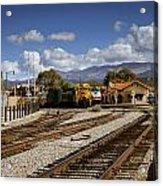 Santa Fe Rail Road Acrylic Print